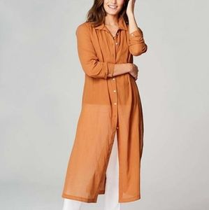 NEW J. Jill long shirttail tunic